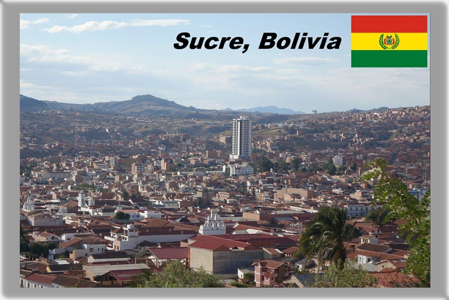 Amazon Com Sucre Refrigerator Magnet Fridge Magnet The Capital City Of Bolivia Refrigerator Magnet Home Kitchen