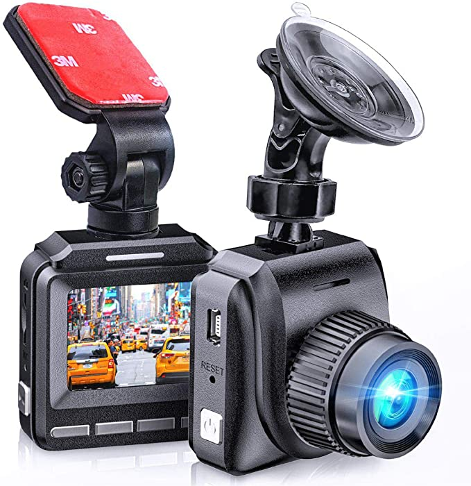 Dash Cam,Dashboard Camera,COSBITY Full HD 1080p Night Vision G-Sensor Loop Recording 2.4 Screen Car Dashboard Camera Recorder with 160 Degree Super Wide Angle Parking Guard WDR