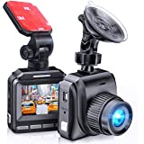Latest 2020 Dash Cam for Cars 60 FPS 1920x1080p with IR Night Vision 1080P FHD Mini in Car Camera 170° Wide Angle…