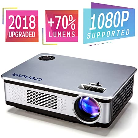 Review Projector, 2018 Upgraded Crenova
