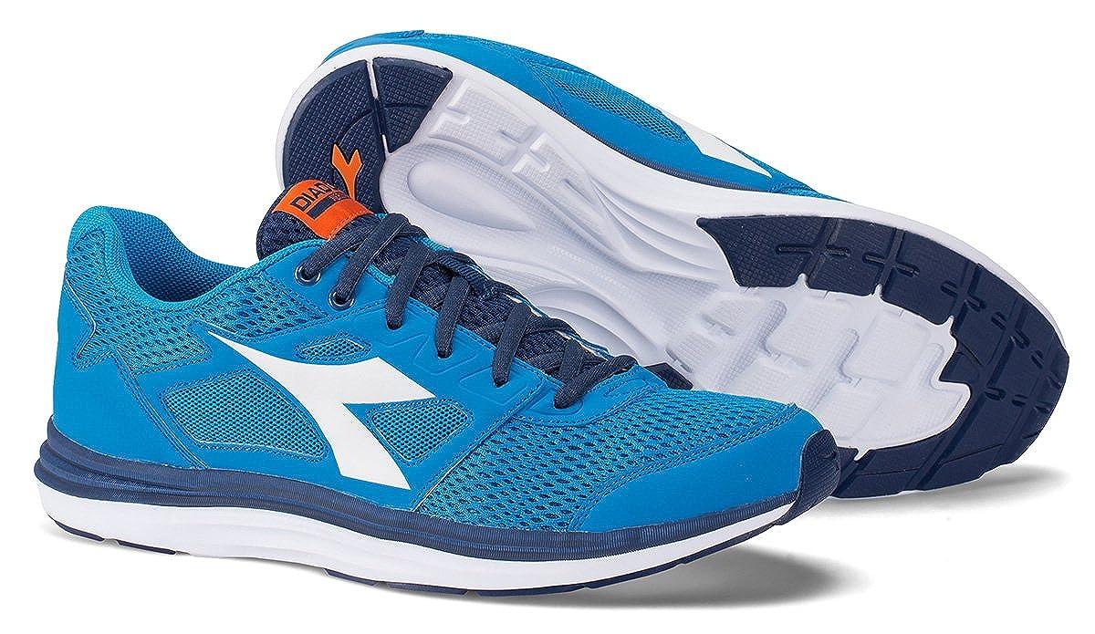 Amazon.com   Diadora Shoes Running Sneaker Jogging Men Heron Sky-Blue/White Size   Fashion Sneakers