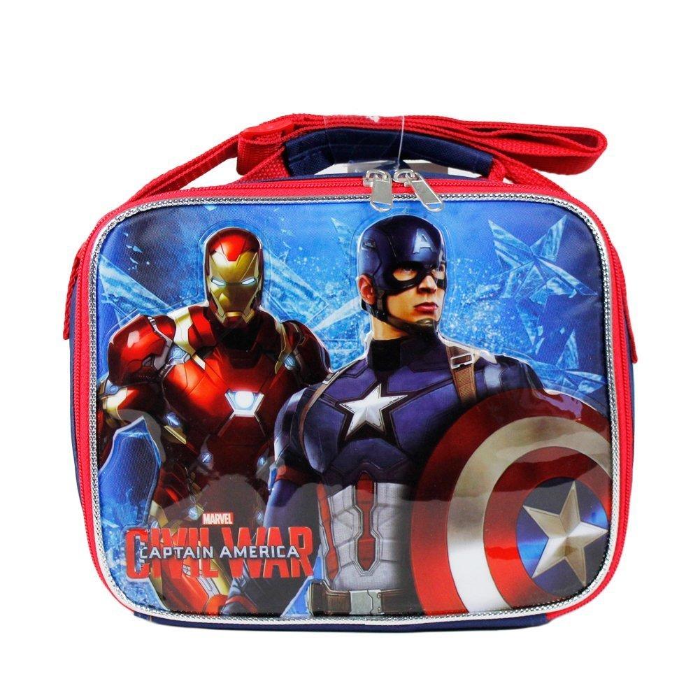 Marvel Captain America Civil War Insulated Lunch Bag for Boys
