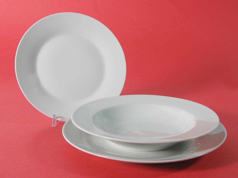 242y141Porcelain Soup Plate 21.5cm Elen Desconocido 7308802