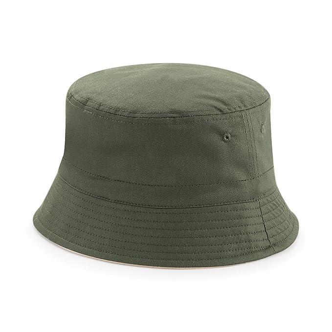 ... Beechfield - Cappello alla Pescatora Reversibile - Unisex  Amazon ... 890b03728d4b