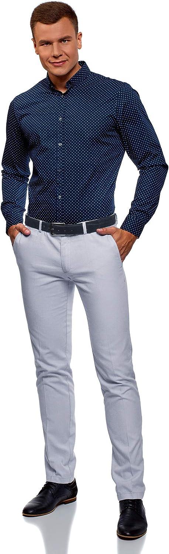 oodji Ultra Uomo Pantaloni in Cotone Estivi