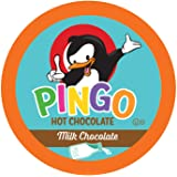 Pingo Milk Chcocolate Hot Cocoa Pods for Keurig K-Cup Brewers, 40 Count