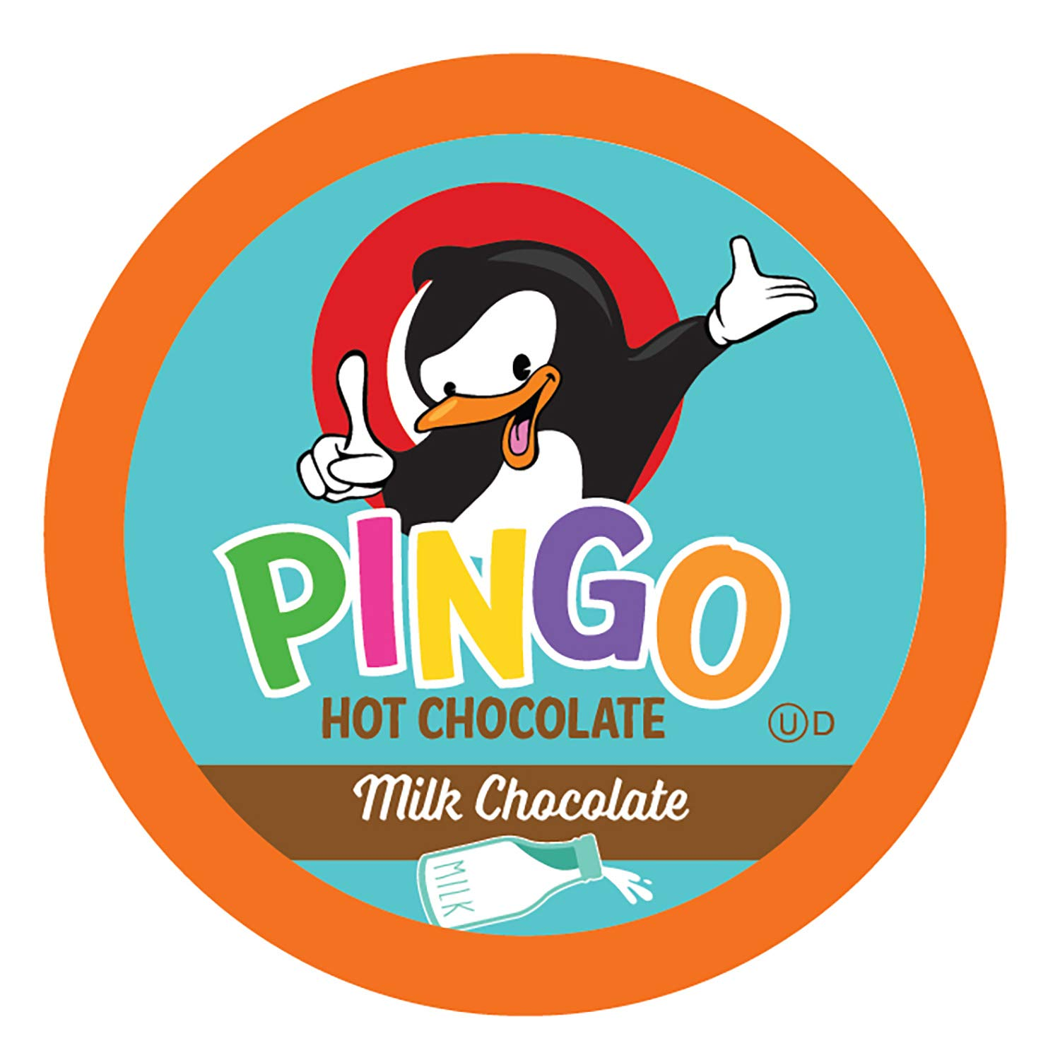 Pingo Hot Cocoa Pods for Keurig K-Cup Brewers, Milk Chocolate 100 Count
