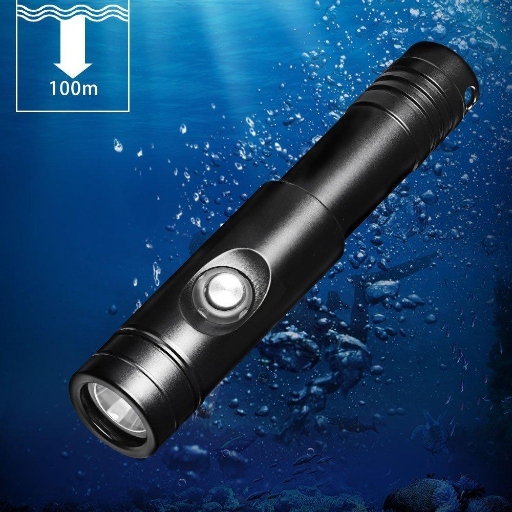 おおすめ水中ライト7選 Odepro WD12 IPX8級防水ダイビングライト