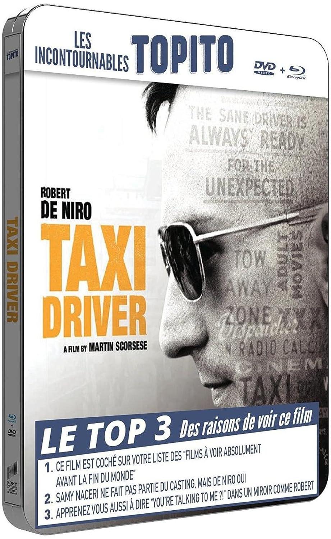 Taxi Driver [Francia] [Blu-ray]: Amazon.es: Robert De Niro, Jodie Foster, Cybill Shepherd, Peter Boyle (I), Harvey Keitel, Albert Brooks, Martin Scorsese, Robert De Niro, Jodie Foster: Cine y Series TV