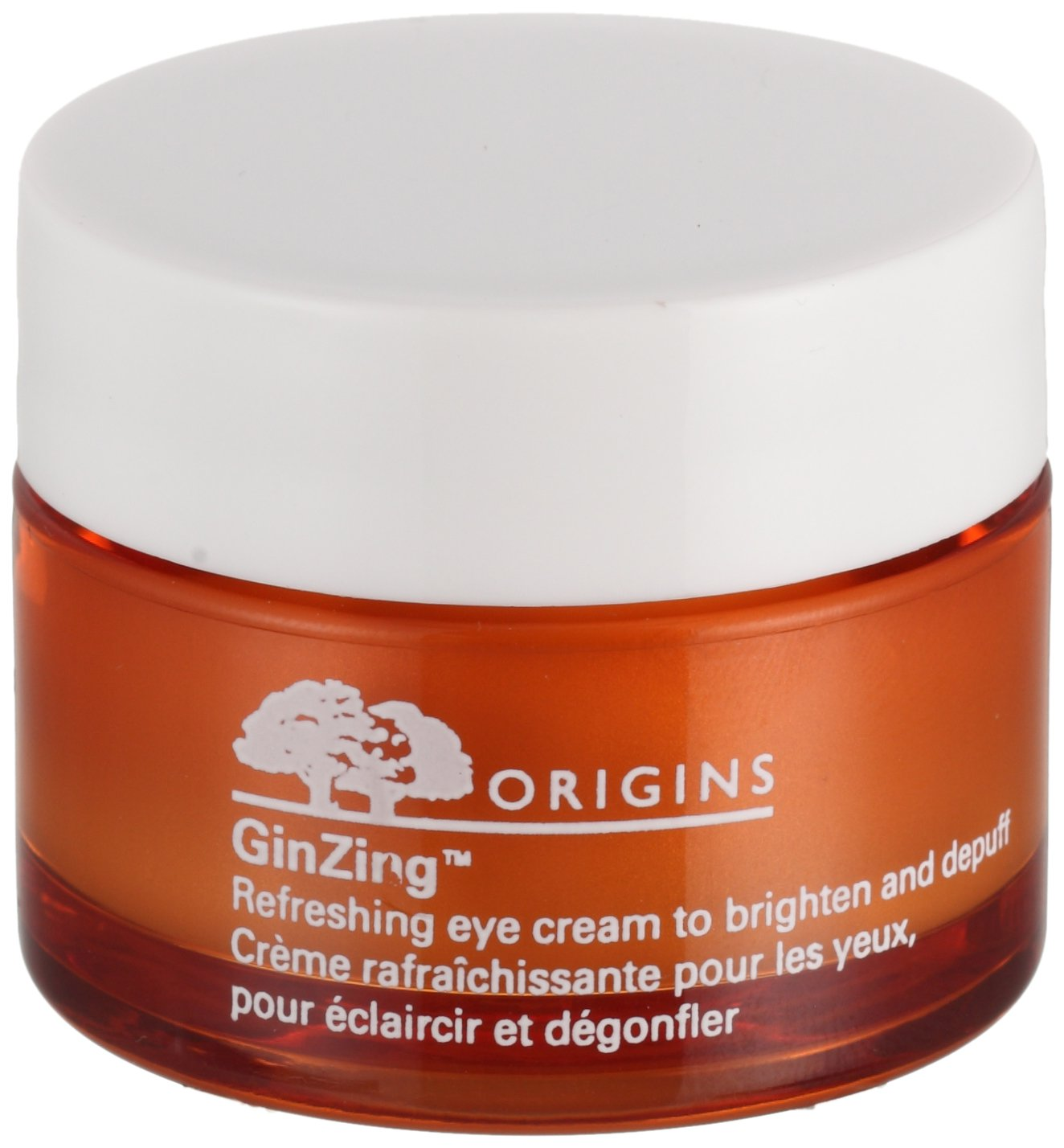 Origins Eye Care 0.5 Oz Ginzing Refreshing Eye Cream To Brighten And Depuff For Women