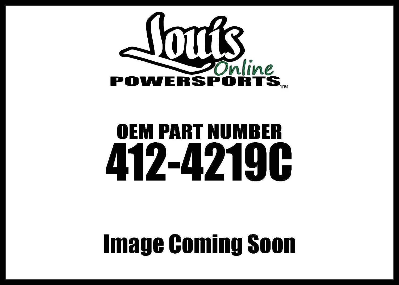 Progressive Suspension 412-4219C Chrome 12.5 Heavy Duty Low Buck Factory Replacement Rear Suspension Shock