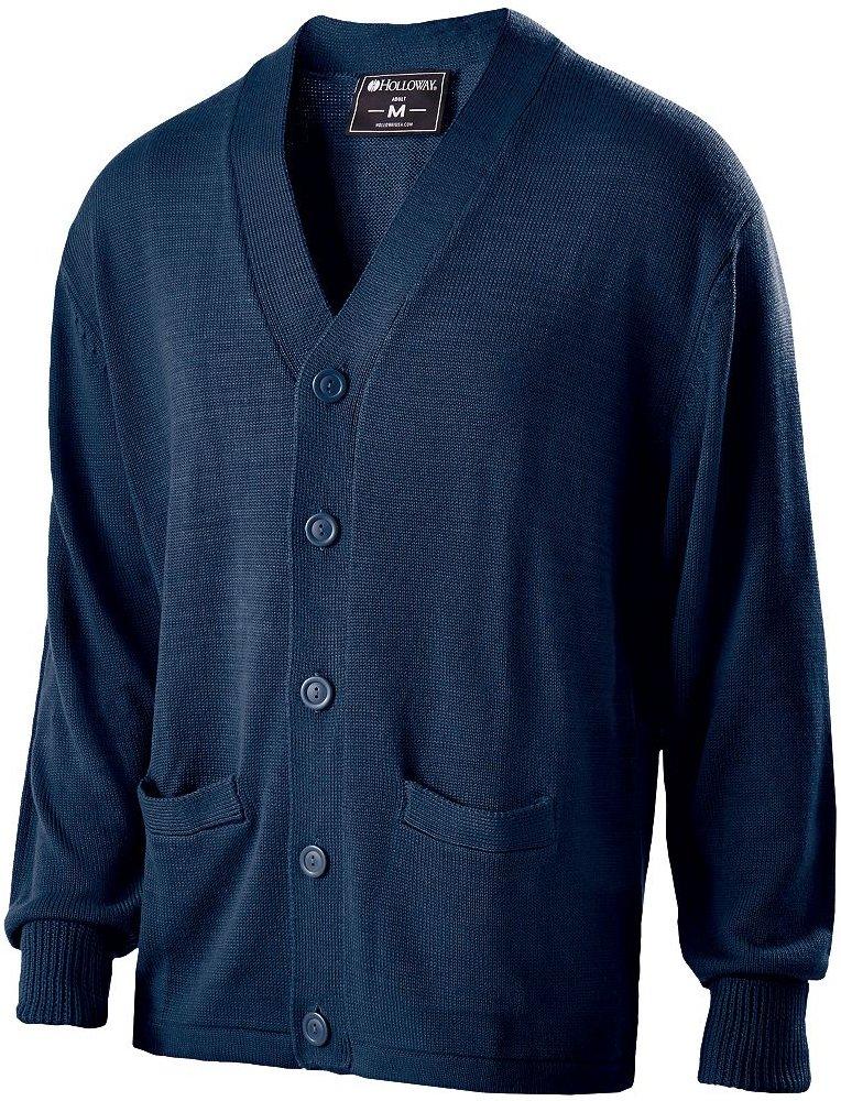 Holloway Sportswear LETTERMAN SWEATER Men's XL Navy