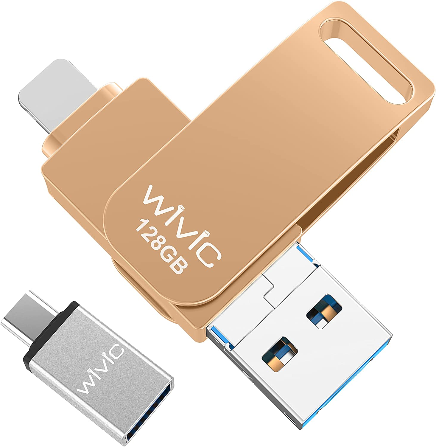 WIVIC USB 3.0 128GB iPhone Photo Stick $14.70 Coupon