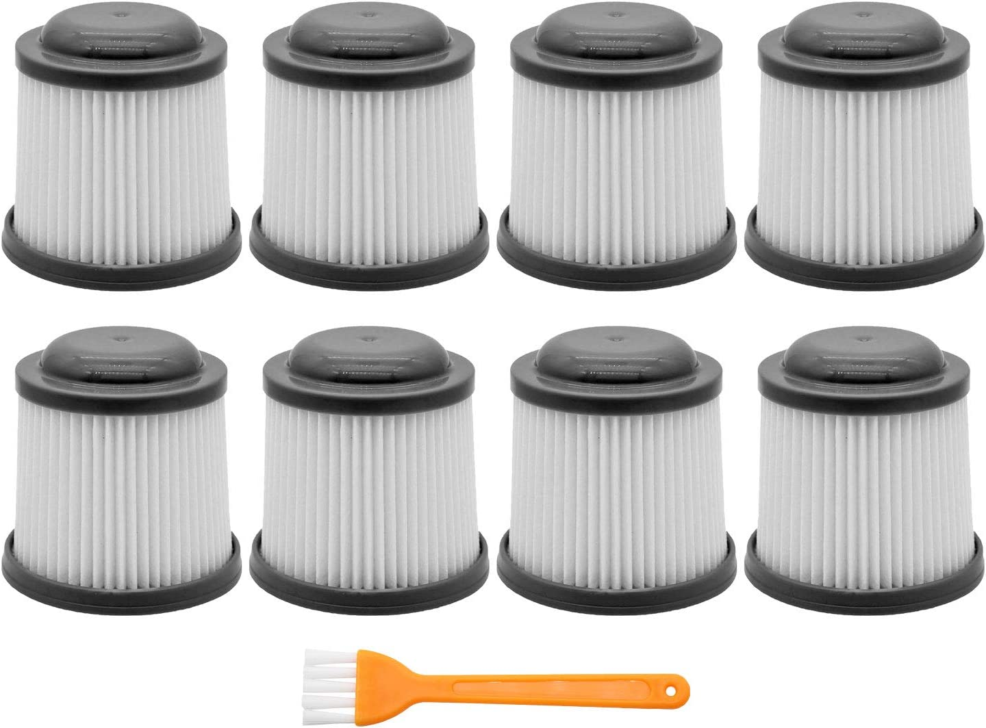 IOYIJOI 8 Pack Vac Replacement Filters for Black & Decker PVF110 PHV1810 PHV1210 BDH2000PL BDH1600PL BDH2020FLFH BDH1620FLFH. Compare to Part # PVF110
