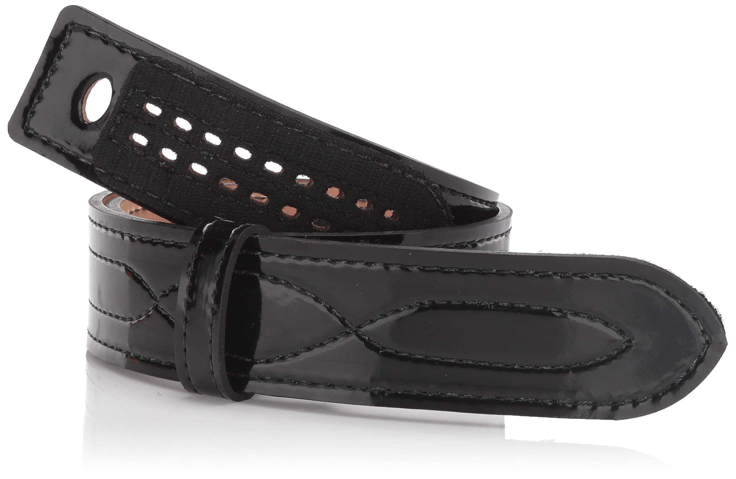 Safariland 94 Duty Belt from Buckleless Duty Belt (High Gloss Black, Size 42) by Safariland
