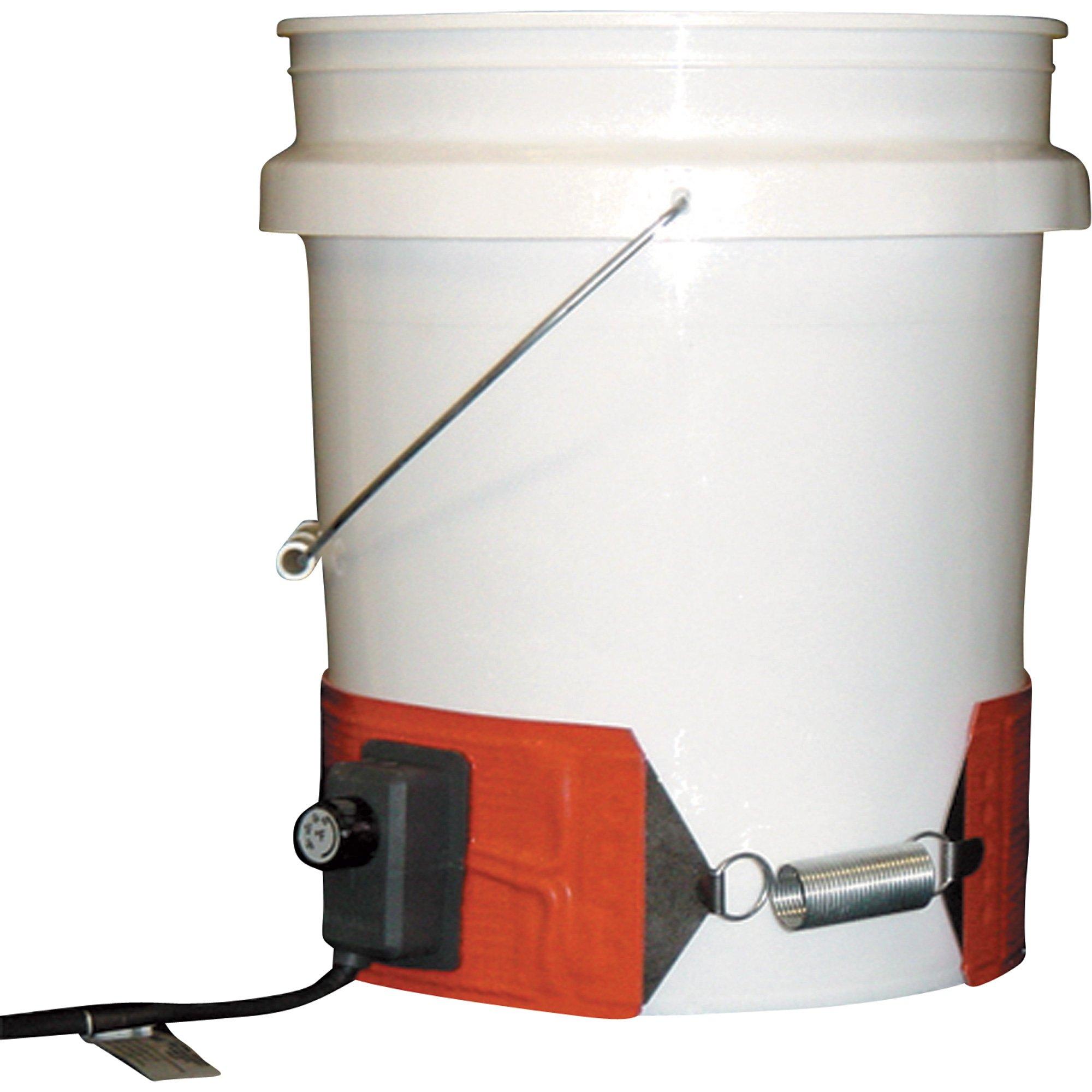 BriskHeat Plastic Drum Heater - 5-Gallon, 150 Watt, 120 Volt, Model# DPCS10
