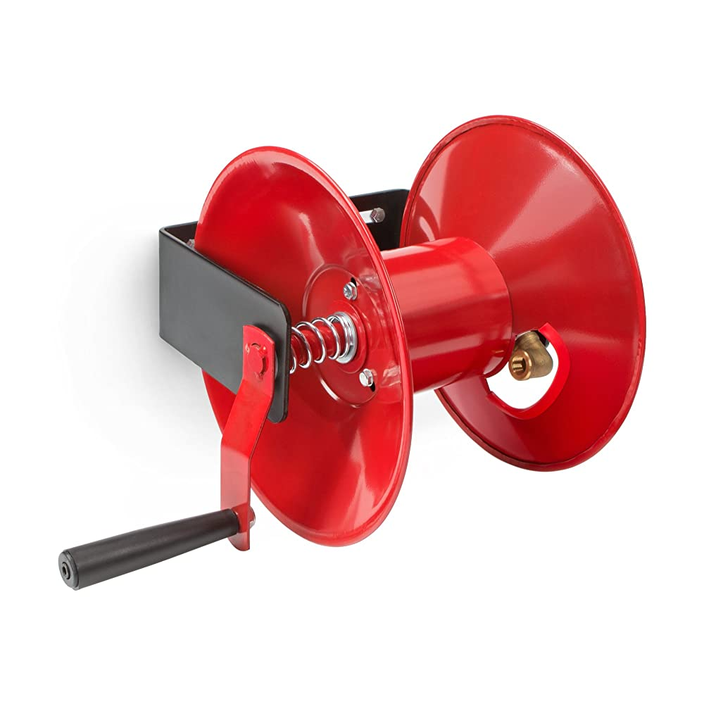 TEKTON Hand Crank Air Hose Reel (50 ft. Capacity) | 4685 Review