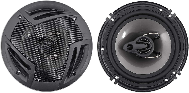6.5 3-Way Speakers 4 Memphis Hidden Hide Away Car Stereo Source Unit Receiver+