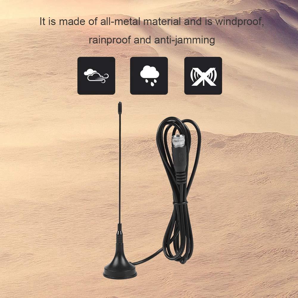 HDTV Digital DVB-T Indoor Antenna Repalcemnet UHF//VHF Dual Band Magnetic Base Antenna 10DB