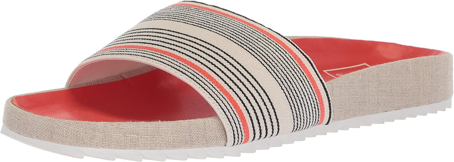 Free shipping / New Dolce Vita Womens Sonia Open New item Toe Casual Sandals Slide
