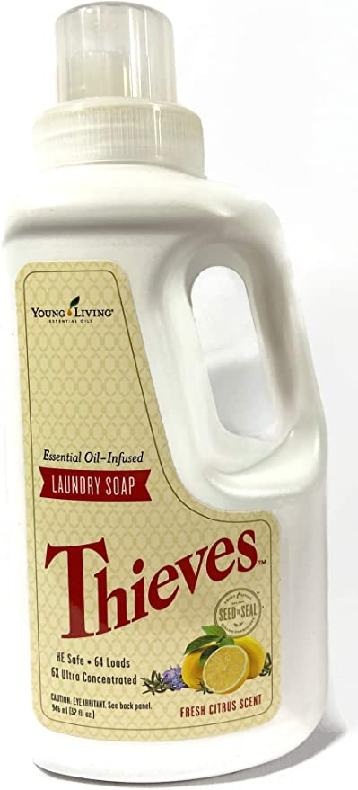Amazon Com Thieves Laundry Soap Young Living Everything Else