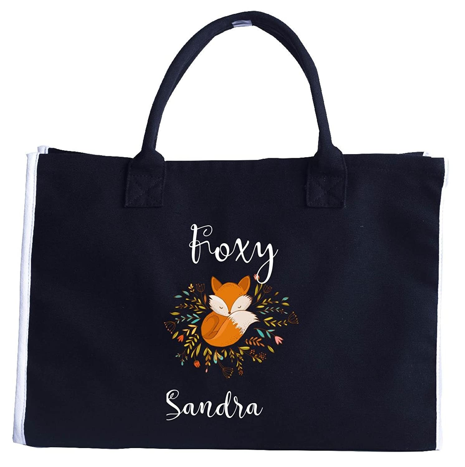 Foxy Sandra. Funny Gift For Wife, Girlfriend, Fiance - Tote Bag