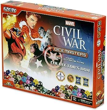 Marvel Dice Masters Civil War - Collector Box: Amazon.es: Juguetes y juegos