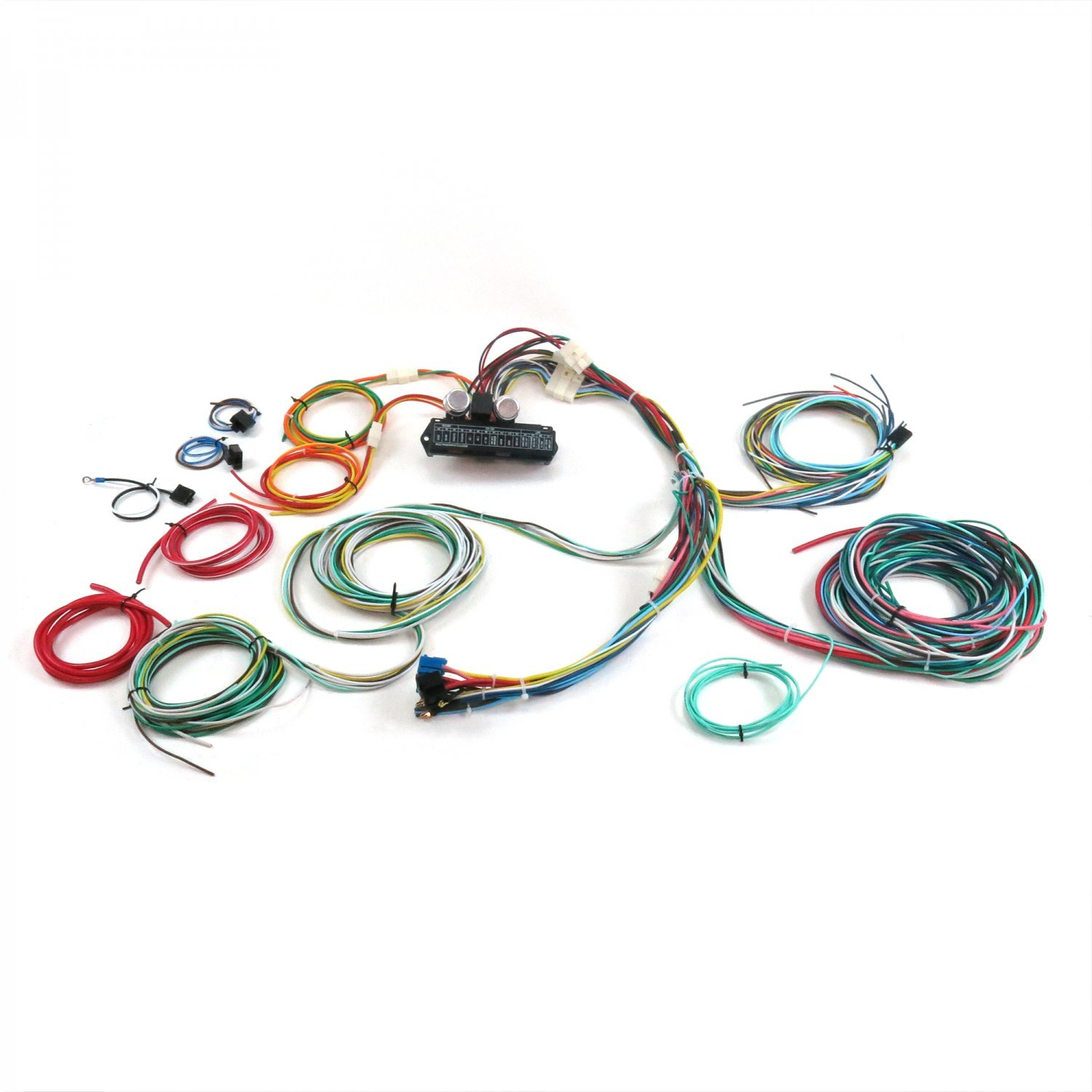 amazon com: keep it clean 689462 wiring harness (ultimate 15 fuse 12v  conversion 38 1938 ford convertible-2-door,4-door): automotive
