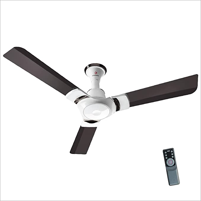 Buy Sense Connect With Smart BLDC Technology 1200 MM Sweep 3 Blade Remote Control 14 High Speed Options New Launch Ceiling Fan With Anti Dust Features(Coffee Brown, Pack Of 1) Online at Low Prices in India - Amazon.in