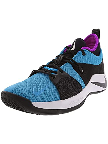 size 40 4066f 396d0 NIKE Men's PG 2 Basketball Shoe Blue Lagoon/Black/Violet (9 D(M) US)