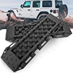 BUNKER INDUST Recovery Traction Boards Emergency Tracks Traction Mat for 4x4