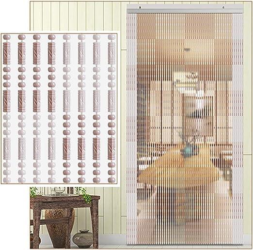 GuoWei-Cortinas de Cuentas Plástico Colgante Cuerdas Tabique ...