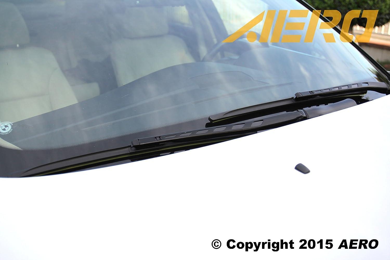 AERO Premium All-Season Beam Windshield Wiper Blades Replacement for Ford C-Max 2017-2013 28