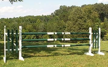 Color Choice Horse Jumps Mix /& Match 10ft Colored CUT Wood Rails