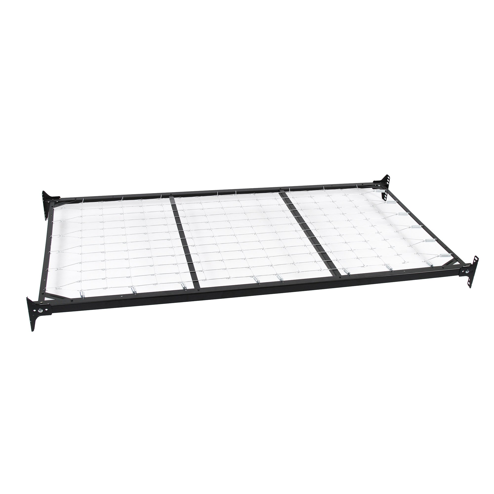 Caroline Complete Metal Daybed with Link Spring and Trundle Bed Pop-Up Frame, Flint Finish, Twin by Adjustables by Leggett & Platt (Image #6)