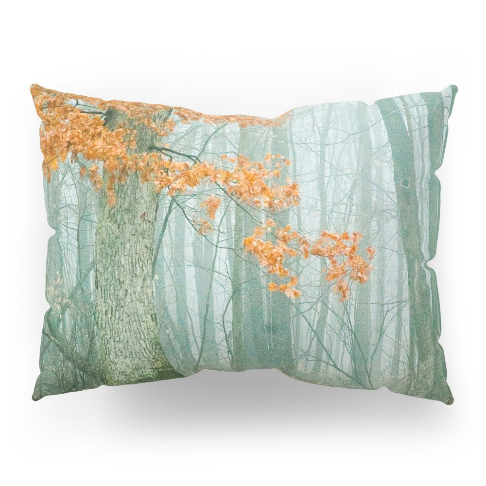 Society6 Autumn Woods Pillow Sham Standard (20'' x 26'') Set of 2 by Society6 (Image #1)