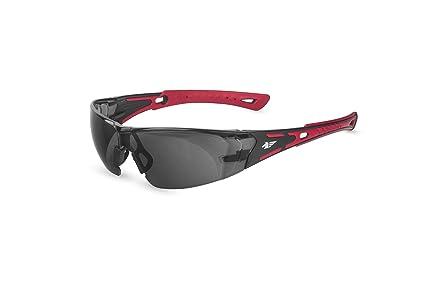 Pegaso 103.02 Gafas de Protección, Rojo y Negro, L