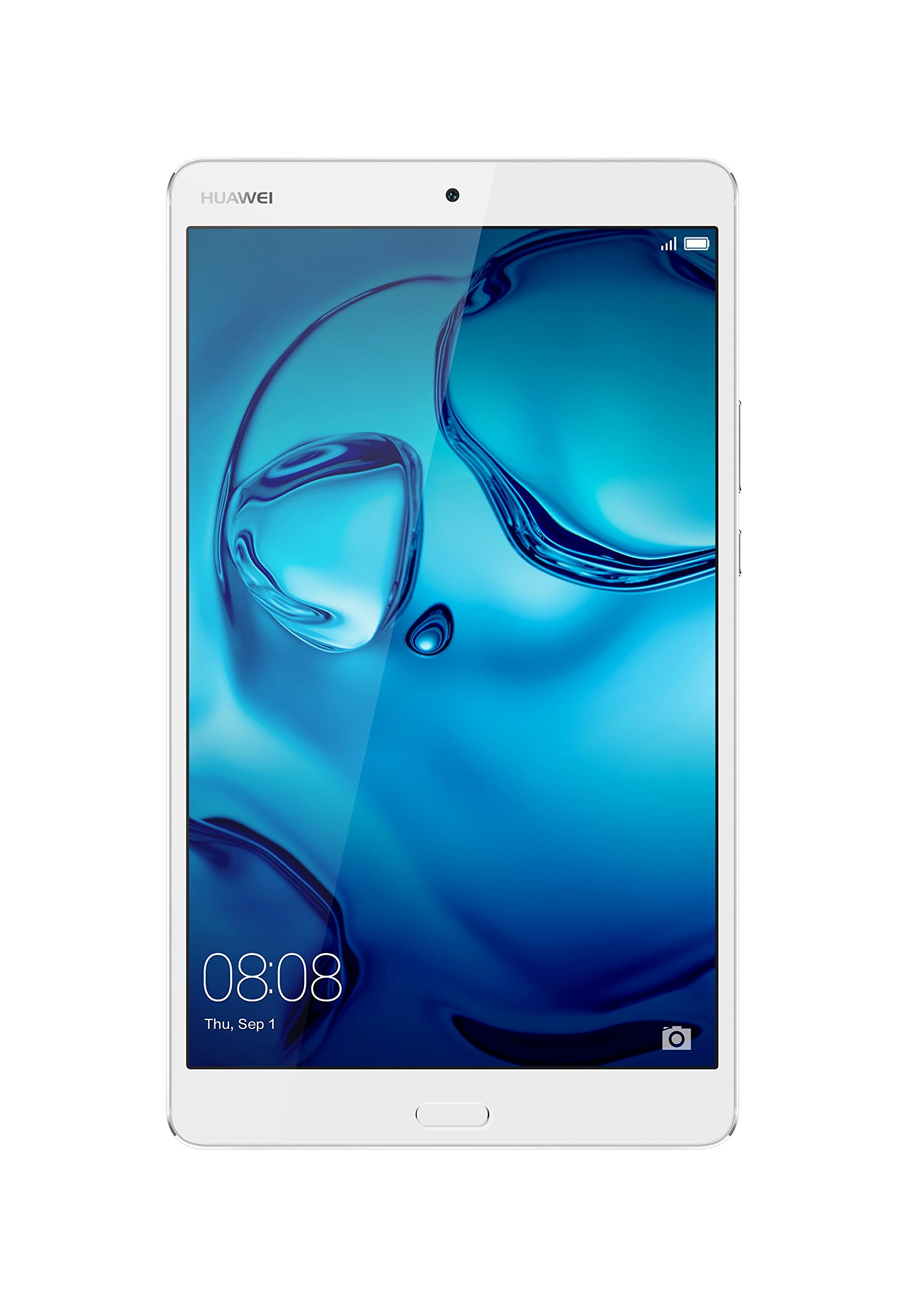 Huawei + Harman Kardon MediaPad M3 8.0 Octa Core 8.4'' Android (Marshmallow) +EMUI Tablet, WiFi only, 32GB, Moonlight Silver (US Warranty) by Huawei