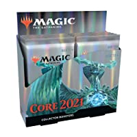 Magic: The Gathering Core Set 2021 (M21) Collector Booster Box   12 Packs   Min....