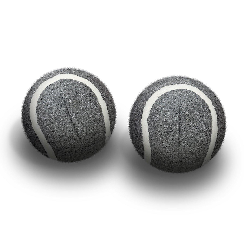 Top Glides Precut Walker Tennis Ball Glides - Gray - 6 Pairs