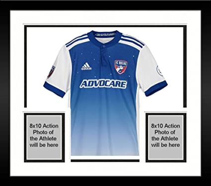 reputable site 69377 110a3 Framed Carlos Gruezo FC Dallas Autographed Match-Used Blue ...