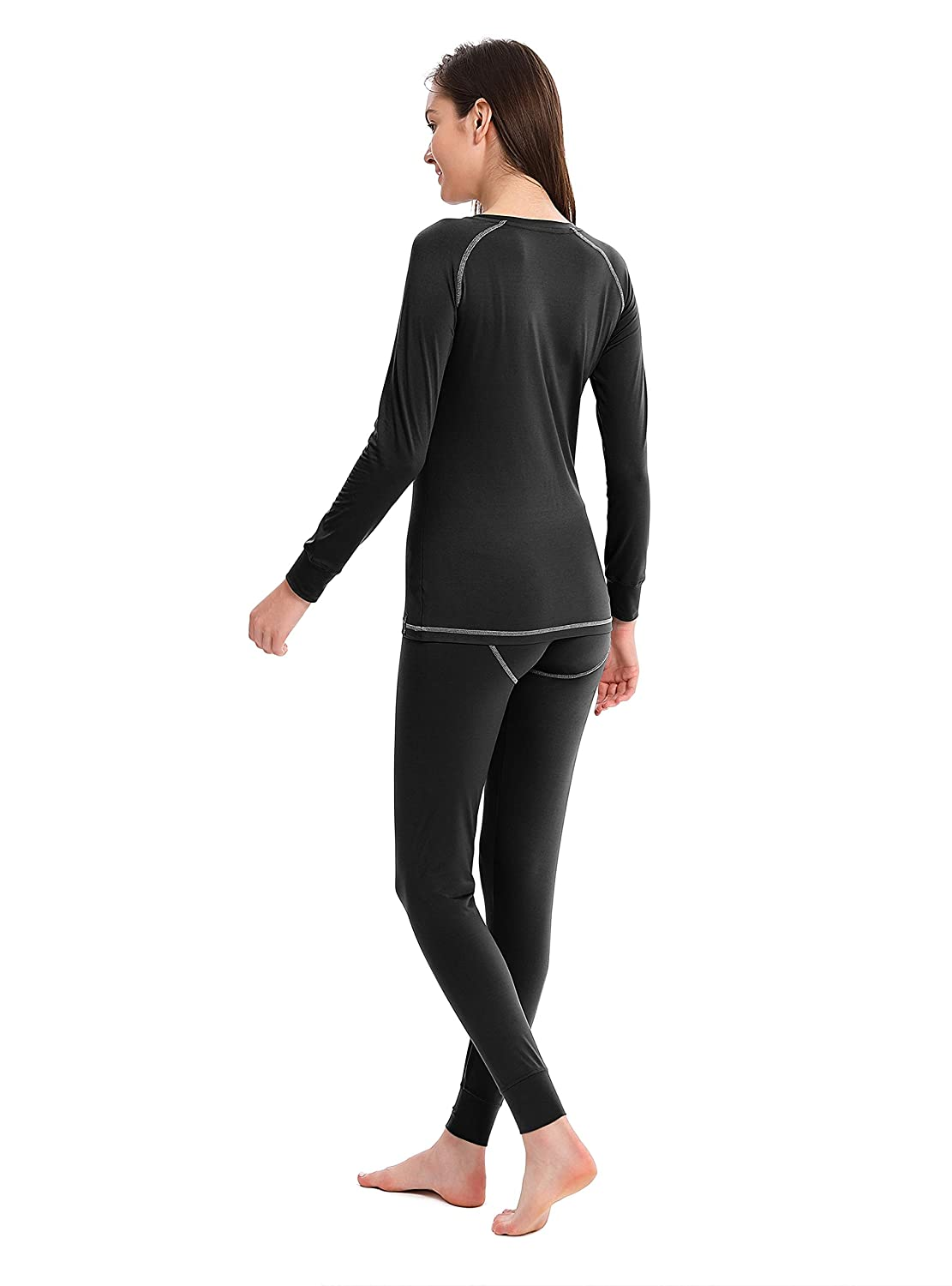 Femofit Compression Performance Thermal Underwear for Women Long John Set Base Layer S~XL