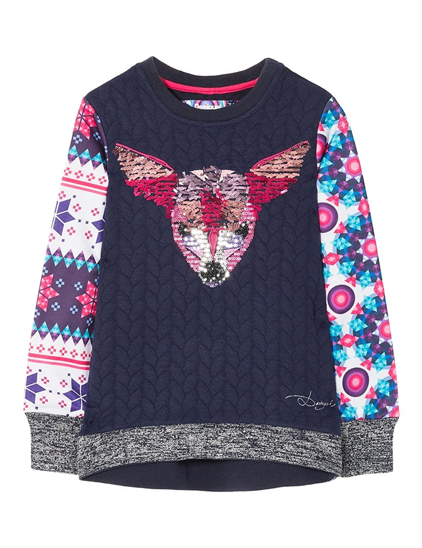 Desigual Mädchen Sweatshirt Sweat_Boccacio