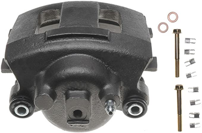 ACDelco 18FR2329 Professional Rear Passenger Side Disc Brake Caliper Assembly without Pads Friction Ready Non-Coated Remanufactured