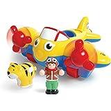 WDK Partner Partner Jouet - A0902748 - Jouet de Premier Age - Avion Safari Wow Toys