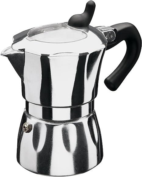 Jata Hogar CAA9 - Cafetera Italiana, Color Plateado: Amazon.es: Hogar