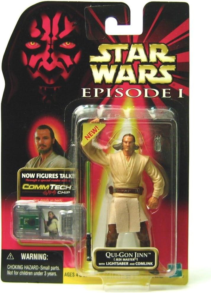 Star Wars Qui-Gon Jinn Jedi Master w/Lightsaber and Comlink 84107