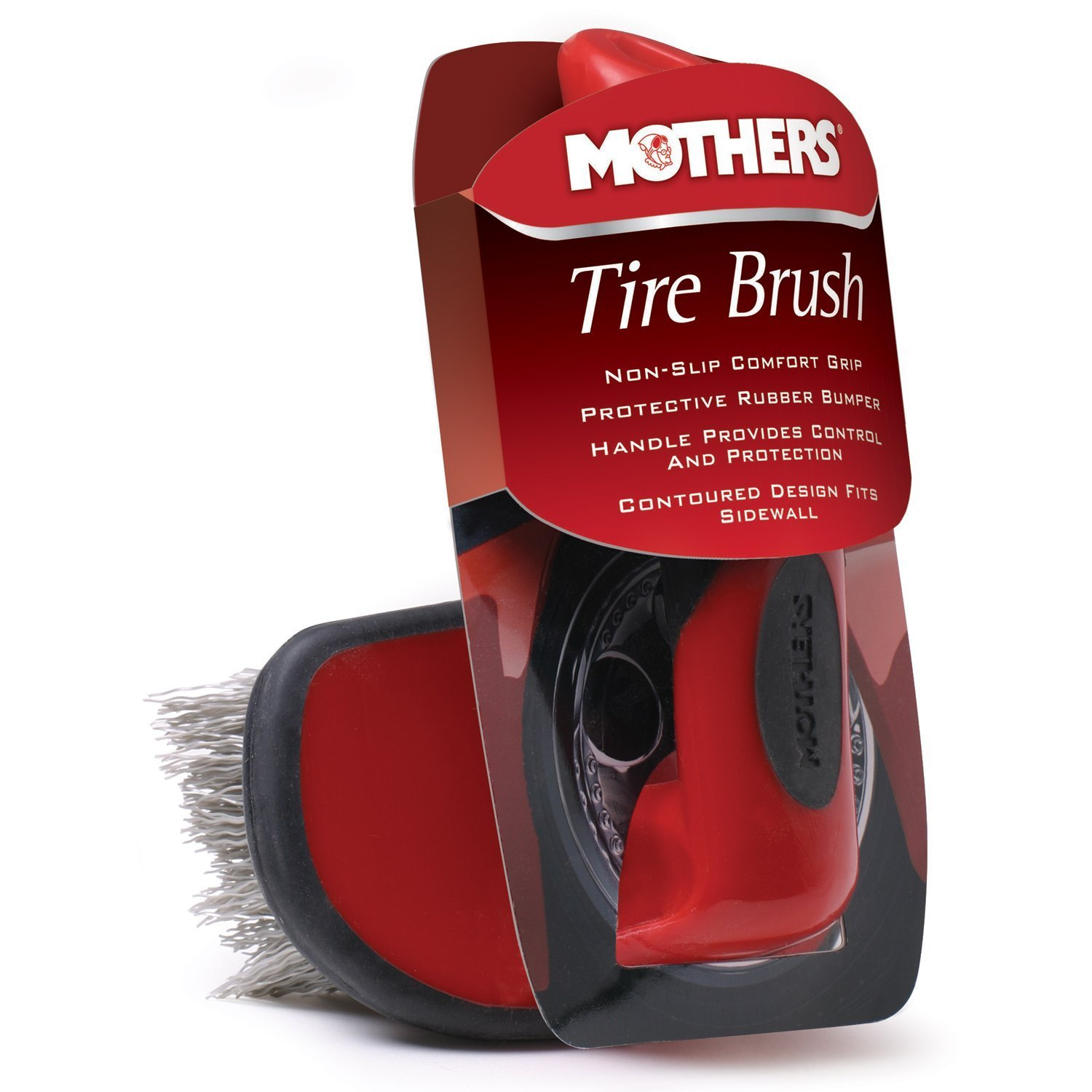Mothers Contoured Tire Brush 156000