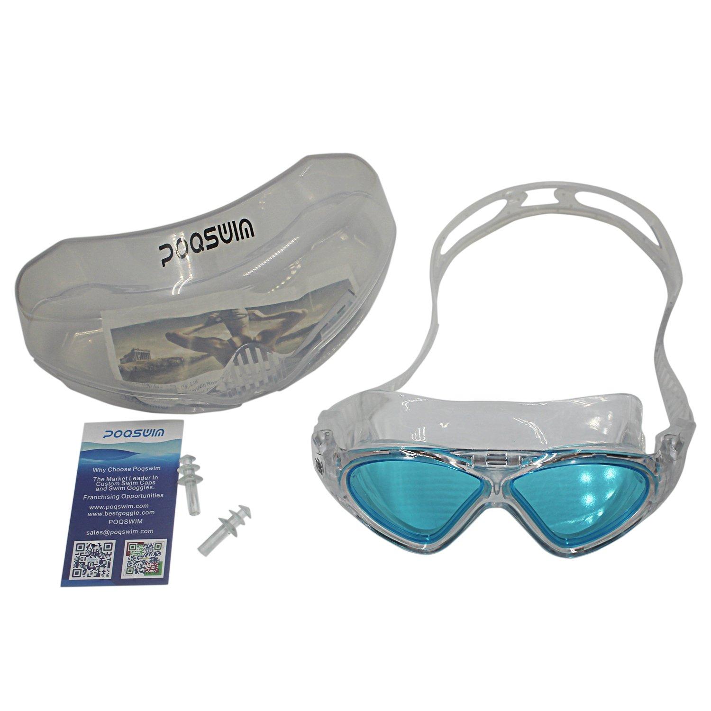 16dbdebe4b2 Poq aqua swimming goggles with plastic carrying case black sports outdoors  jpg 1500x1500 Aqua swimming goggles
