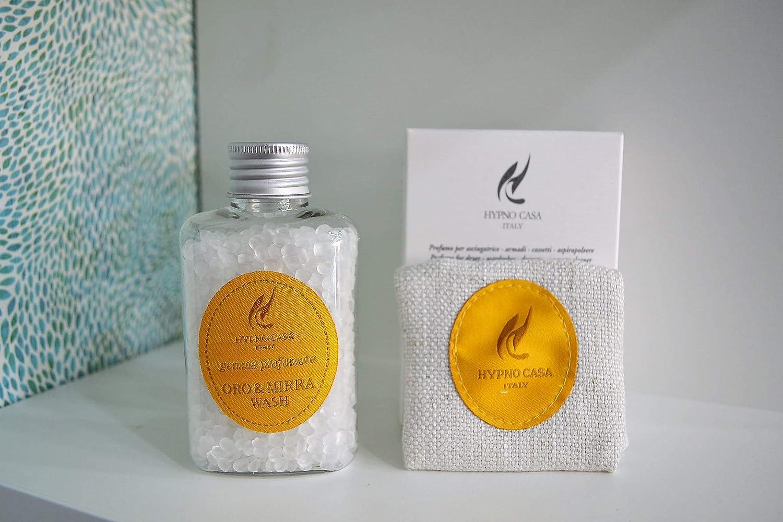 Hypno Casa - Piedras perfumadas de oro y mirra, 60 g Perfume para secadora/armario/cajas/aspiradoras.: Amazon.es: Hogar